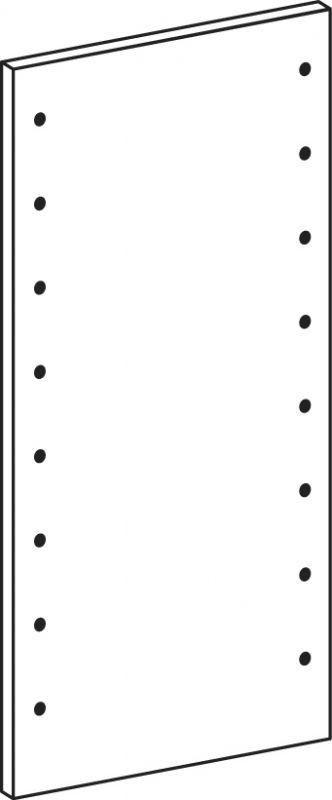 Full side panel - height 82.6 cm