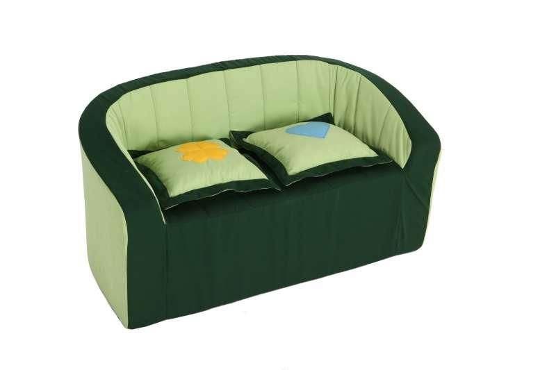 Double-Armchair (green/light green)