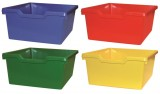 Combination of colours  - Cupboard with 2 shelves and 9 plasic trays