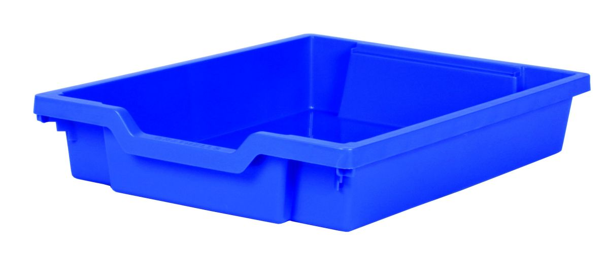 Plastic drawer SINGLE, blue