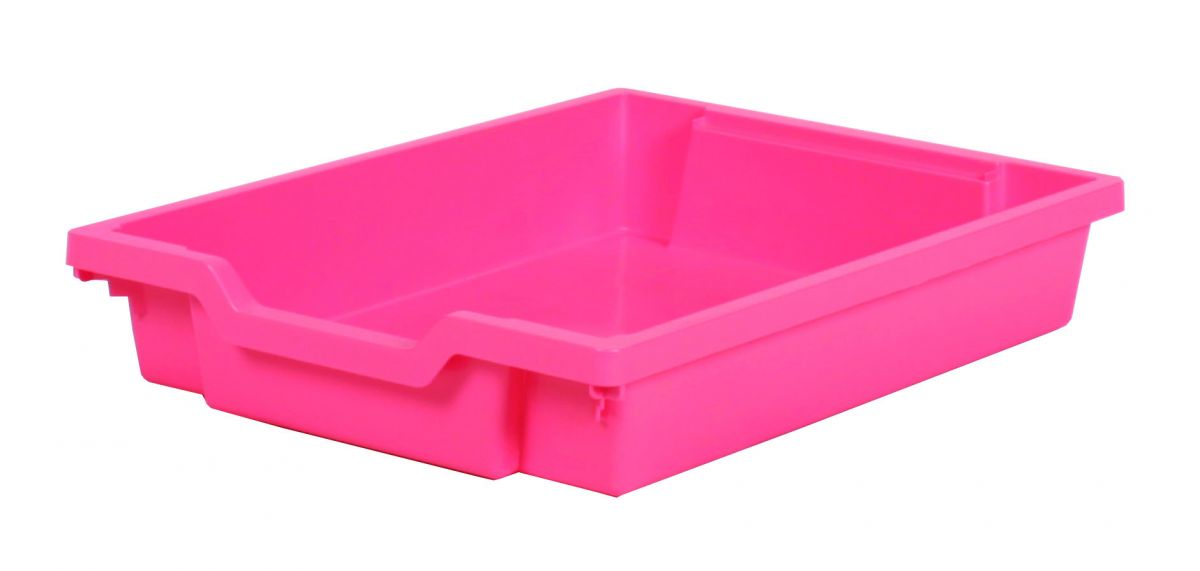 Plastic drawer SINGLE, fuchsia pink Gratnells