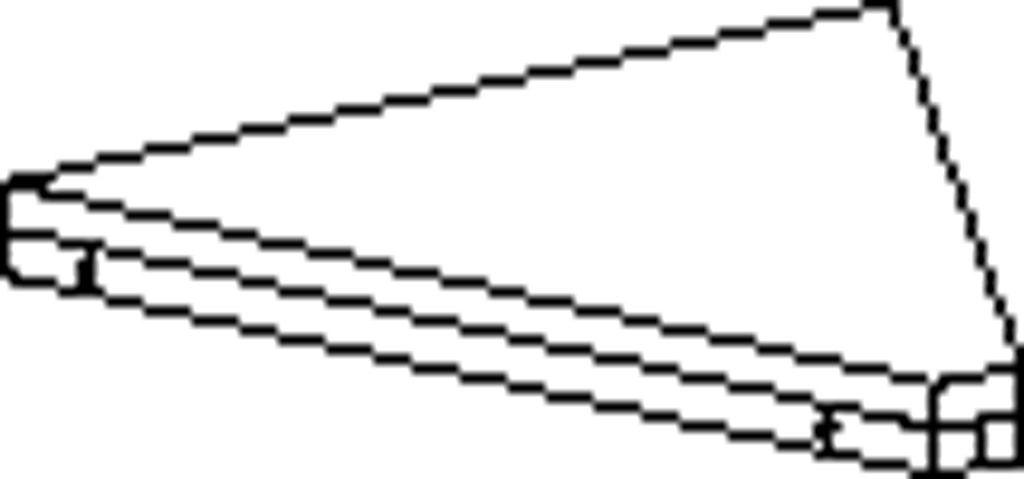 Connecting shelf, angle 45°