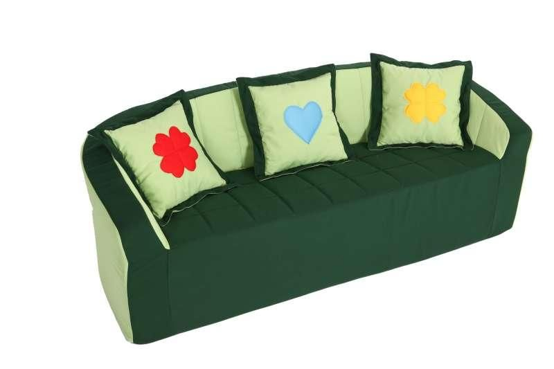 Sofa (green/light green)