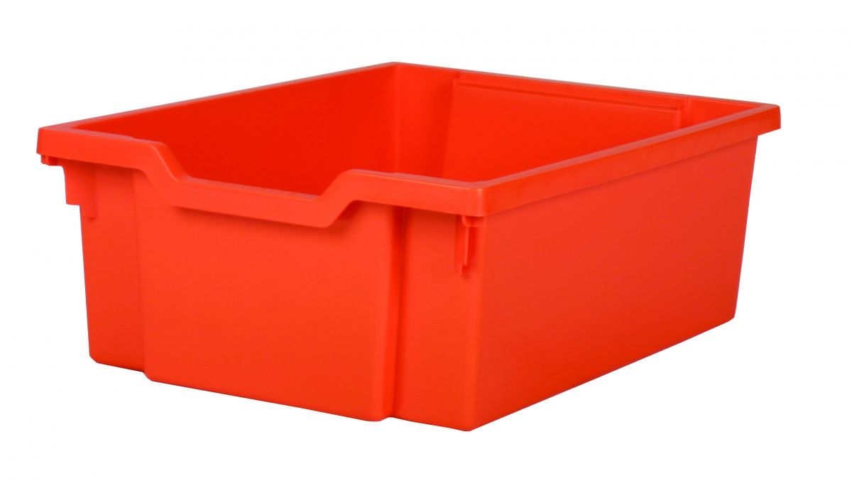 Plastic drawer DOUBLE - orange