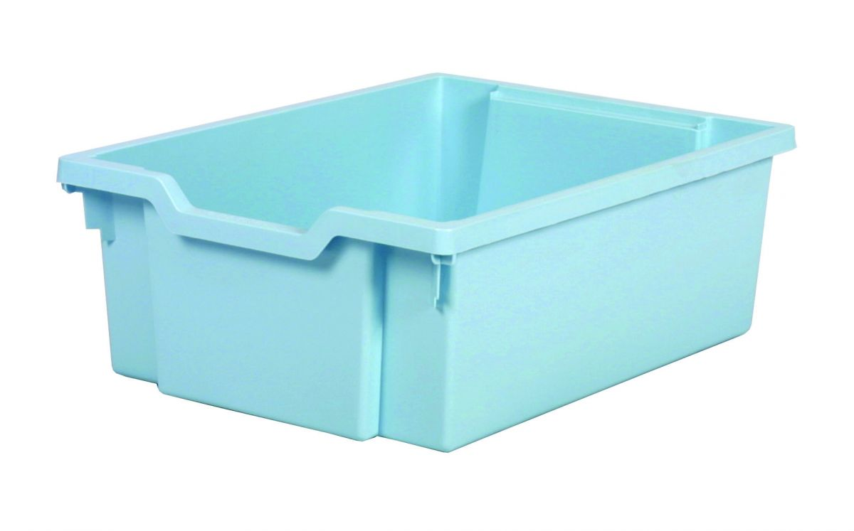 Plastic drawer DOUBLE - pastel blue
