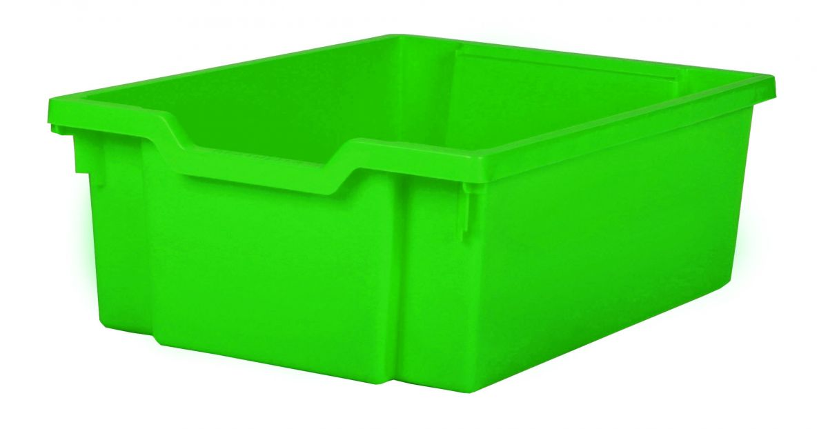 Plastic drawer DOUBLE - green