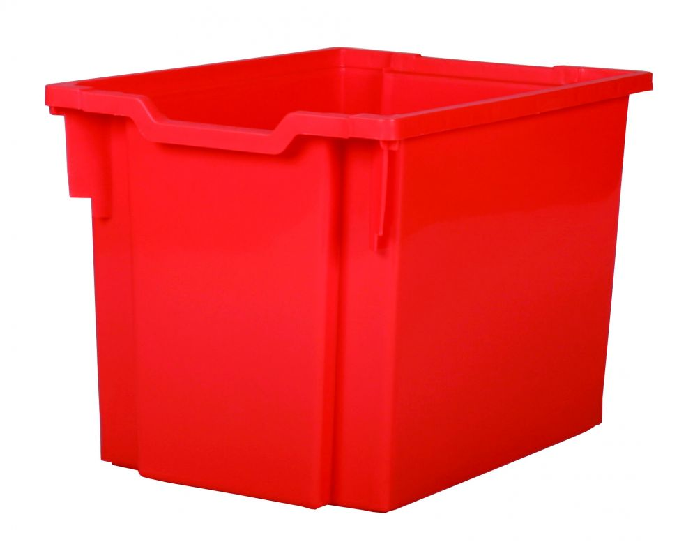 Plastic drawer JUMBO - red