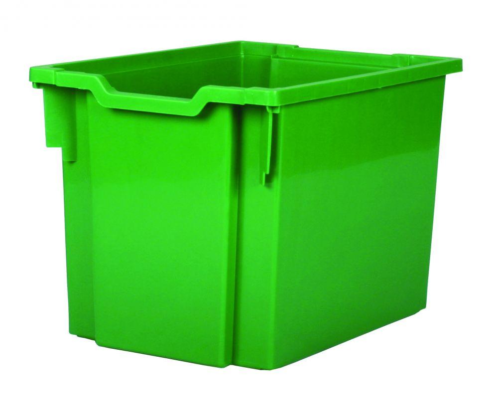 Plastic drawer JUMBO - green Gratnells