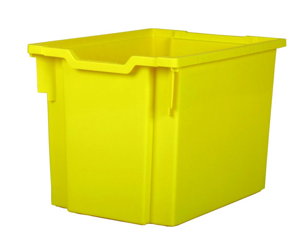 Plastic drawer JUMBO - yellow