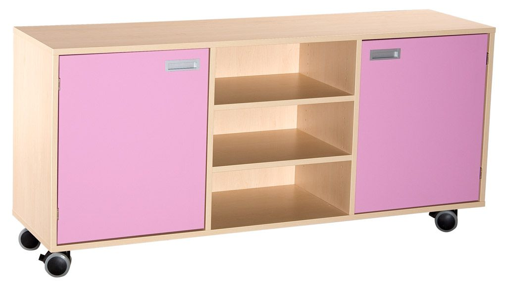 Combined cupboard wit shelves