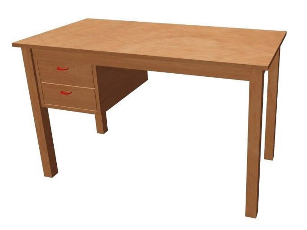 Teacher´s desk with laminated table top