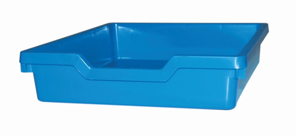 Plastic drawer N1 SINGLE, blue