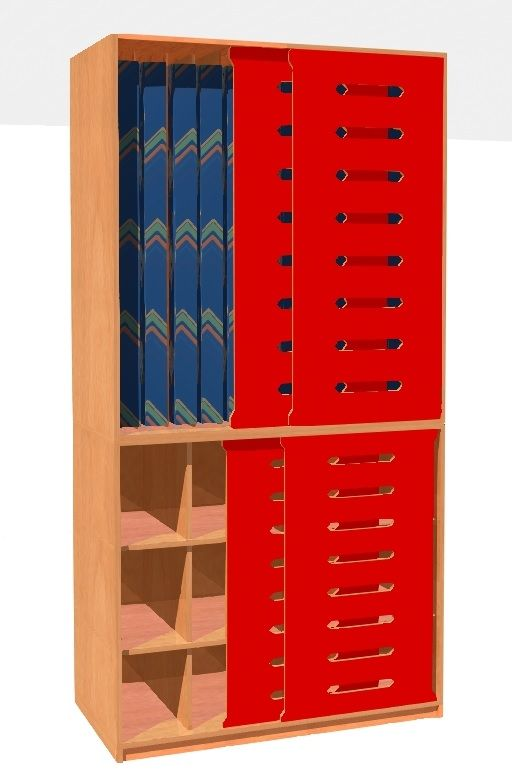Cupboards for beddings and mattress for 12 childrens