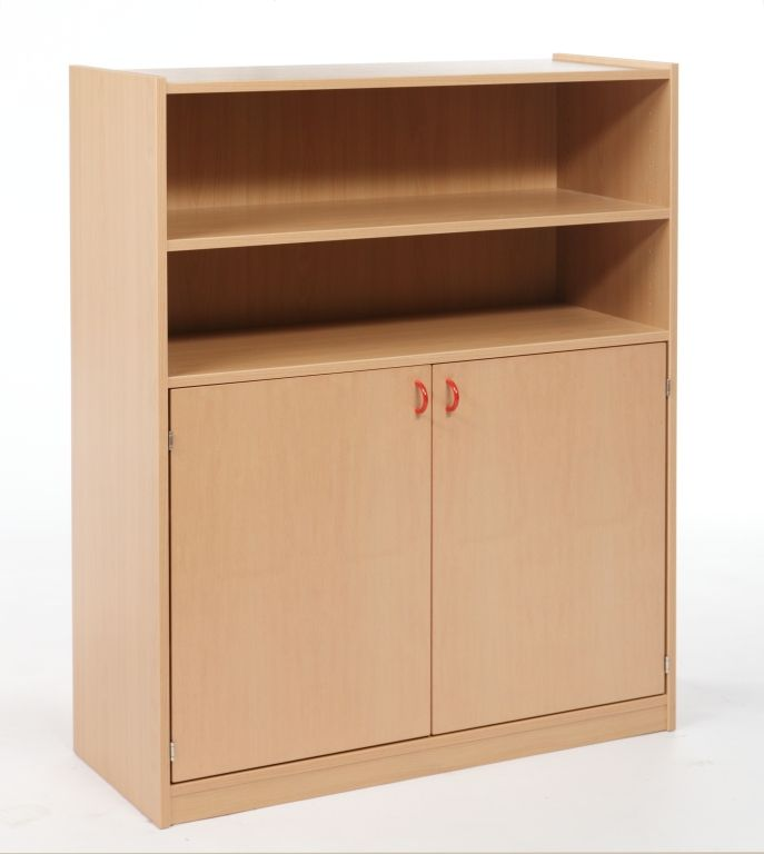 Combined cupboard with drawers