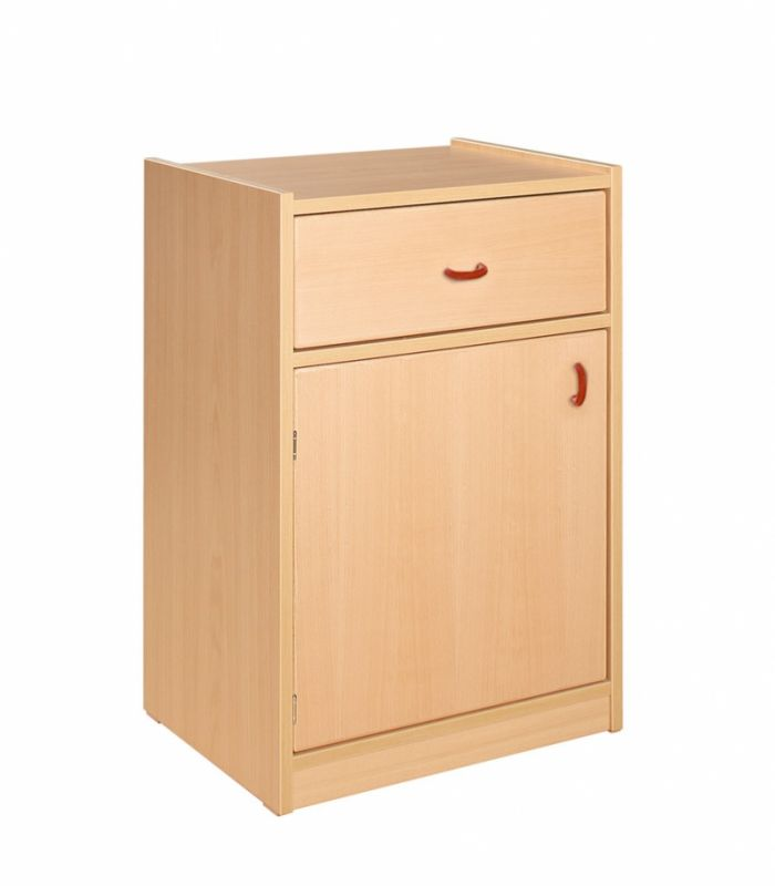 Combined cupboard with drawer
