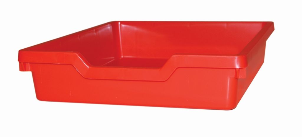 Plastic drawer N1 SINGLE - red Gratnells
