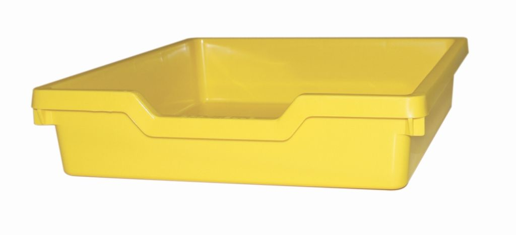 Plastic drawer N1 SINGLE - pastel yellow Gratnells
