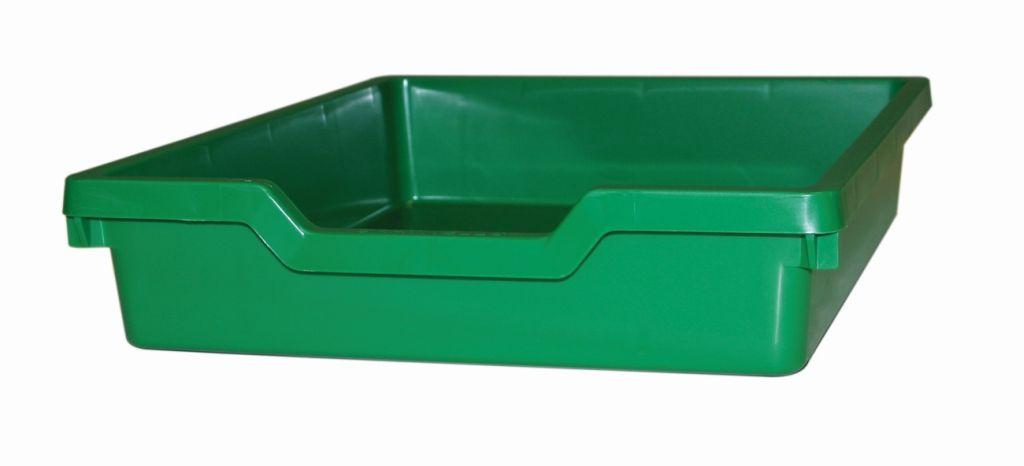 Plastic drawer N1 SINGLE - green Gratnells