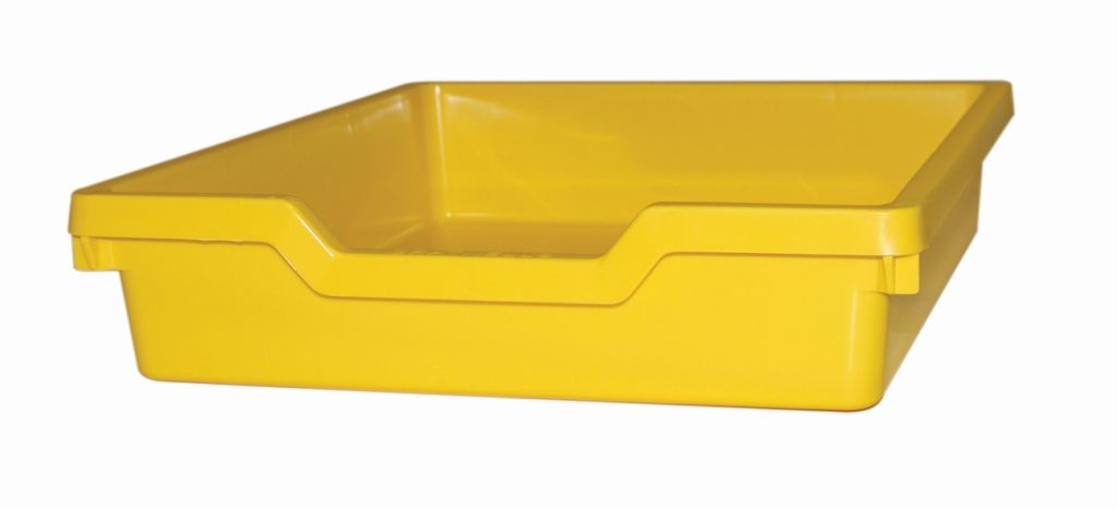 Plastic drawer N1 SINGLE - yellow Gratnells