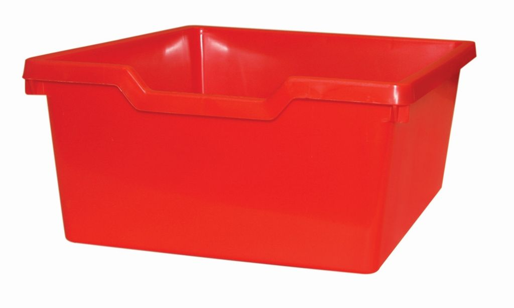 Plastic drawer N2 DOUBLE - red Gratnells