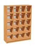 View detail - Shoe rack for 20 children