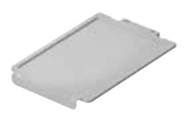 Lid on the plastic tray N1, N2, N3 - clear
