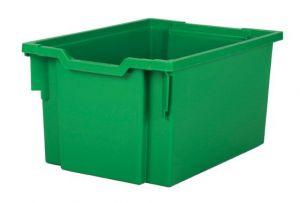 Plastic tray EXTRA DEEP - green