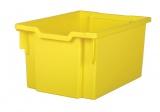 Plastic tray EXTRA DEEP - yellow