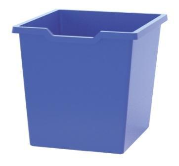 Plastic drawer N3 JUMBO - blue Gratnells