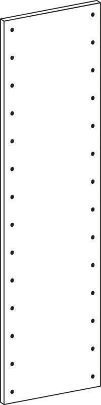 Full side panel - height 140 cm
