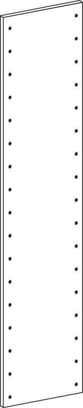 Full side panel - height 178.5 cm