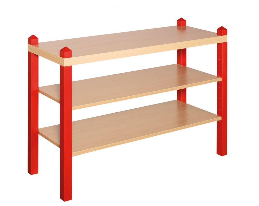 Large extension unit with 2 shelves