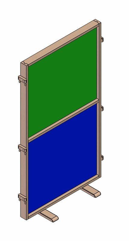 Partition - board - laminate fill