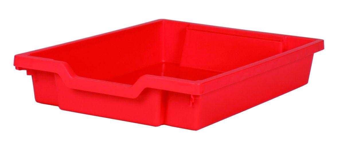 Plastic drawer SINGLE, red Gratnells