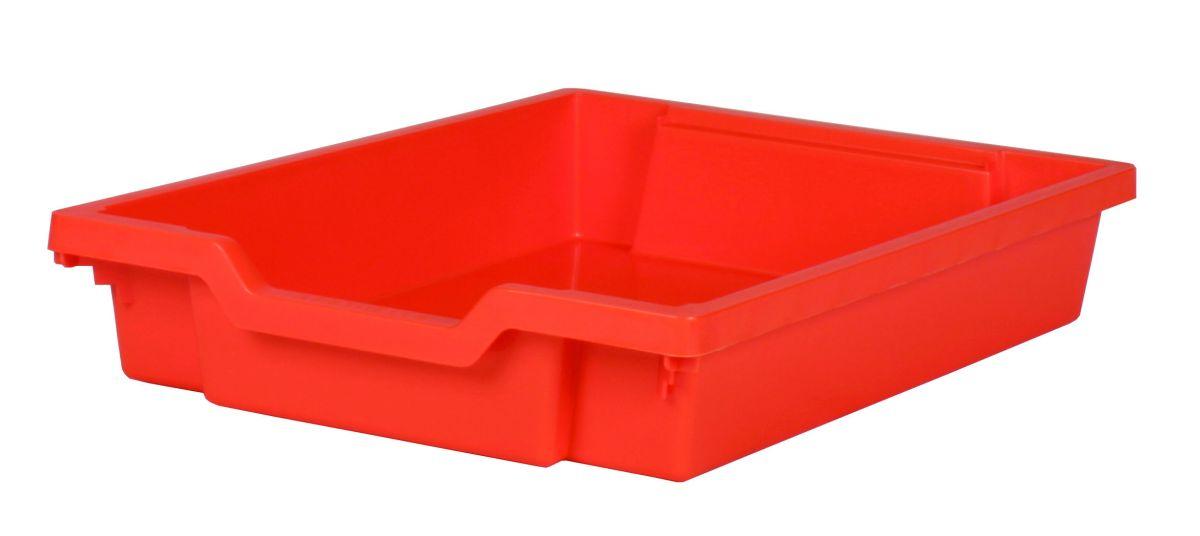 Plastic drawer SINGLE, orange Gratnells