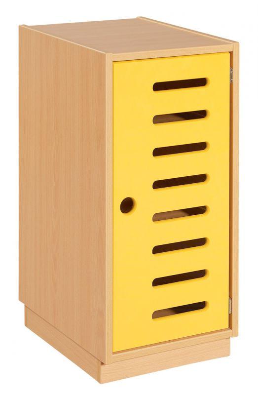 Cupboard with door and 2 shelves