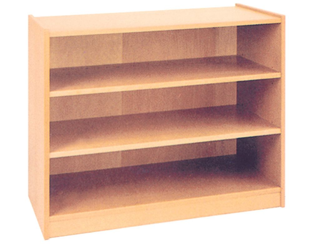 Cupboard with 3 shelves, height 100 cm
