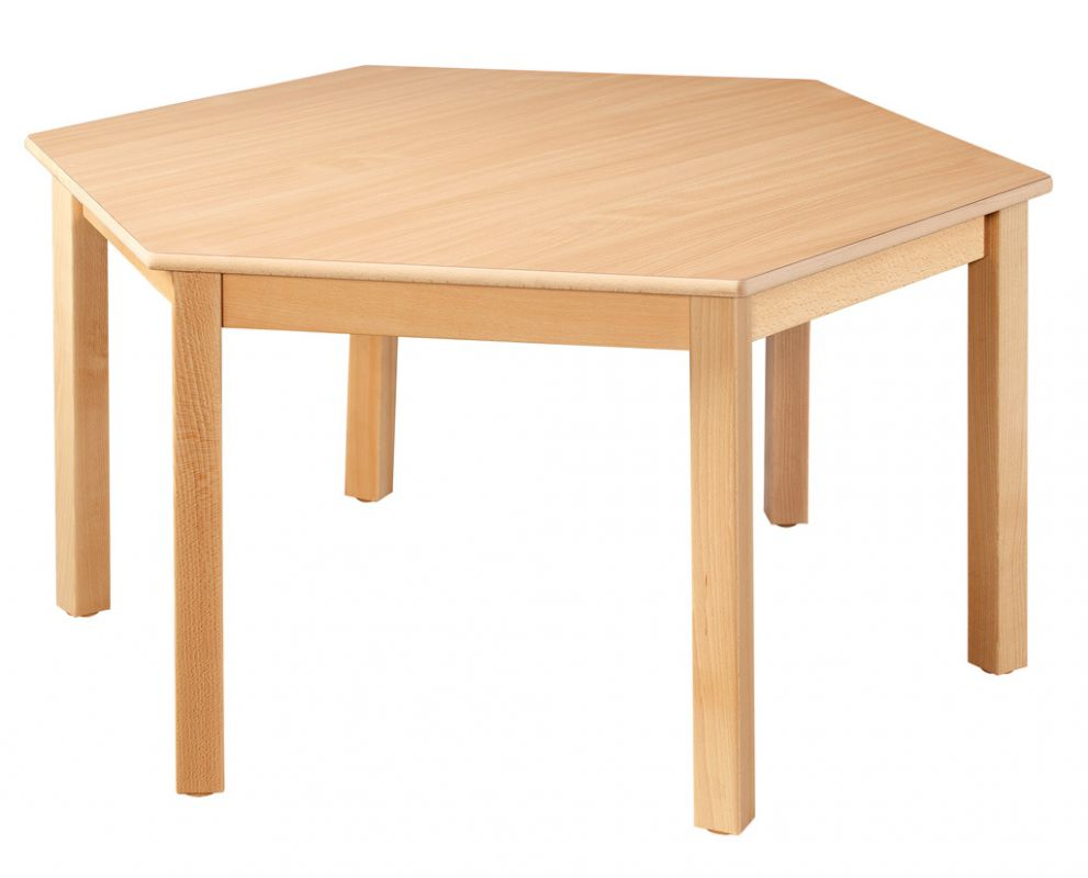 Hexagonal table run 120 cm