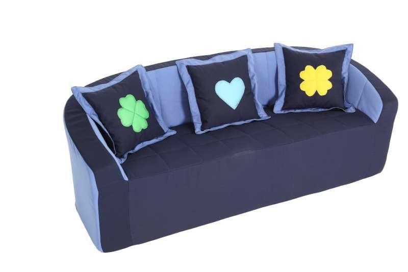 Sofa (blue/light blue)