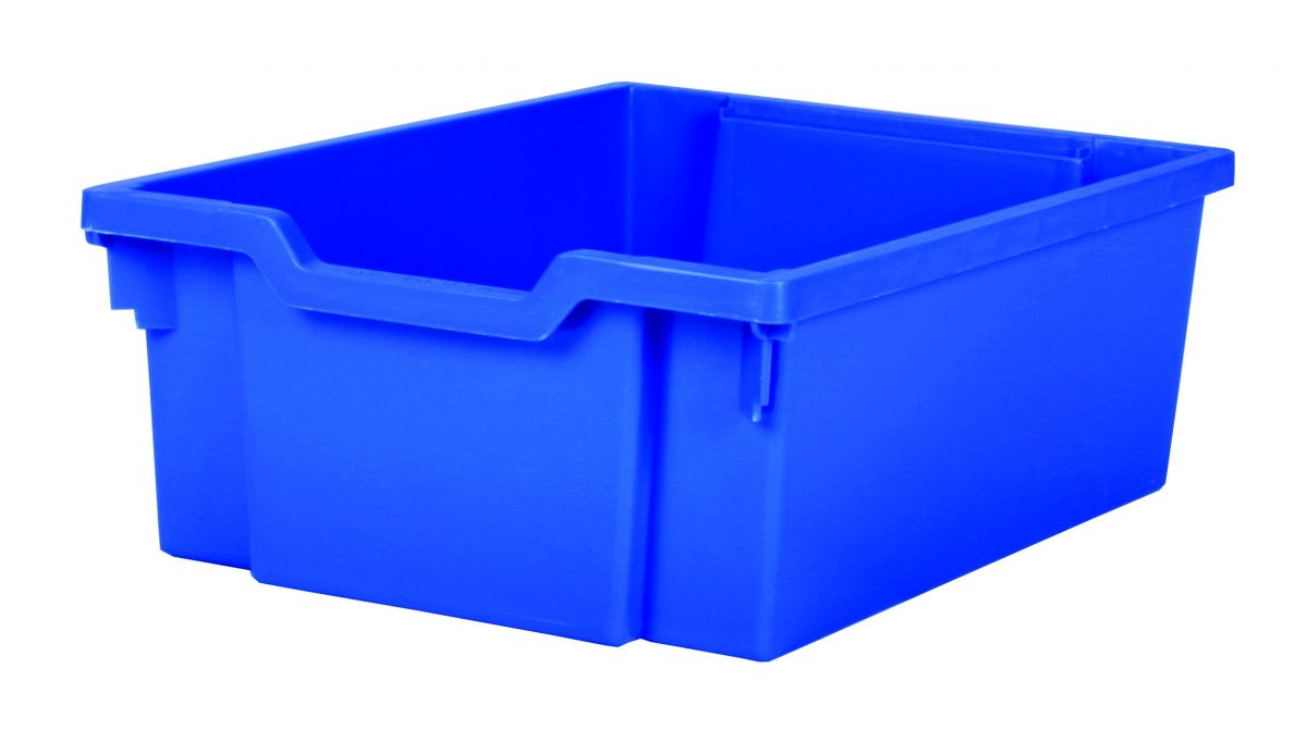 Plastic tray DOUBLE - blue Gratnells