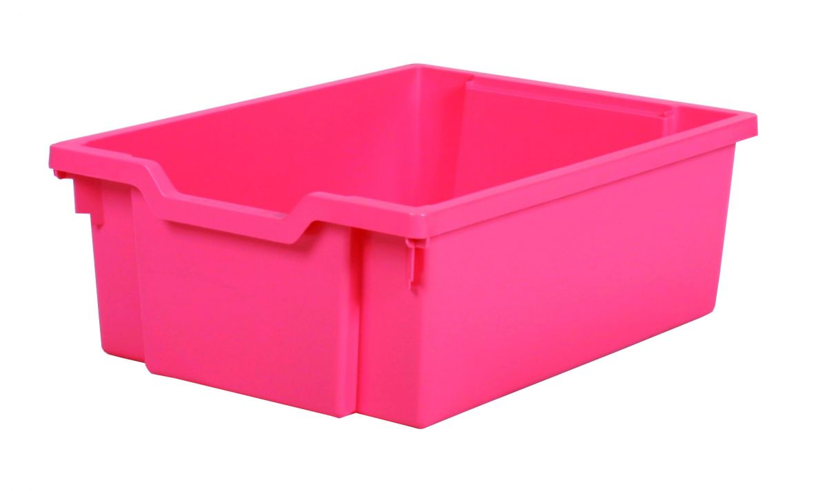 Plastic drawer DOUBLE - pink Gratnells
