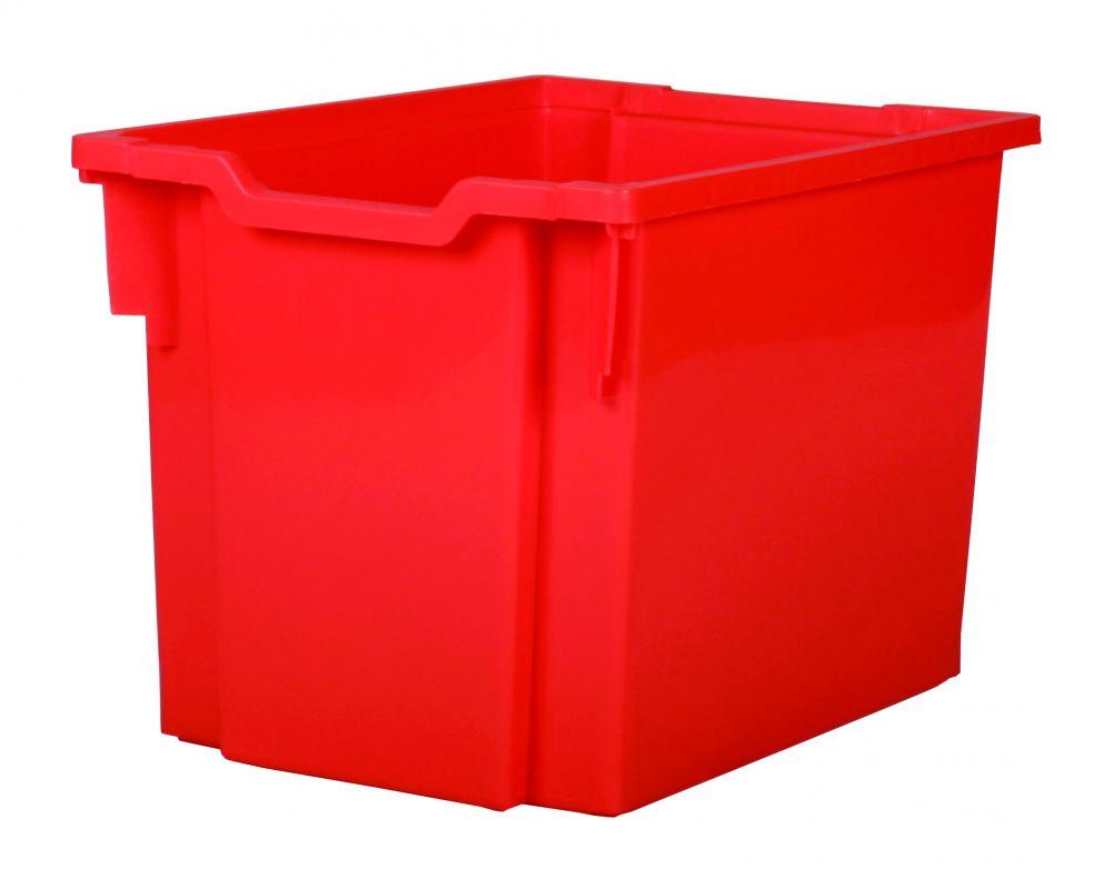 Plastic tray JUMBO - red Gratnells