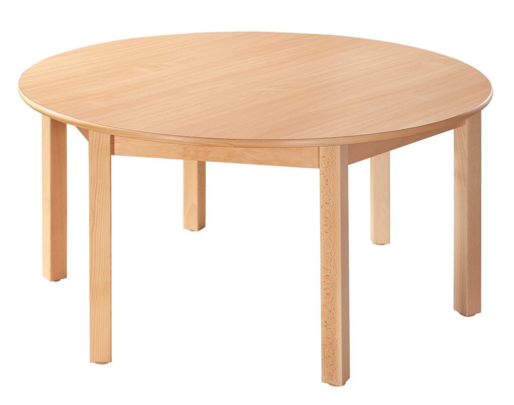 Round table run 120 cm with 6 legs
