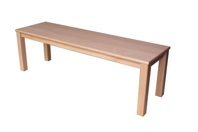 Bench with formica seat