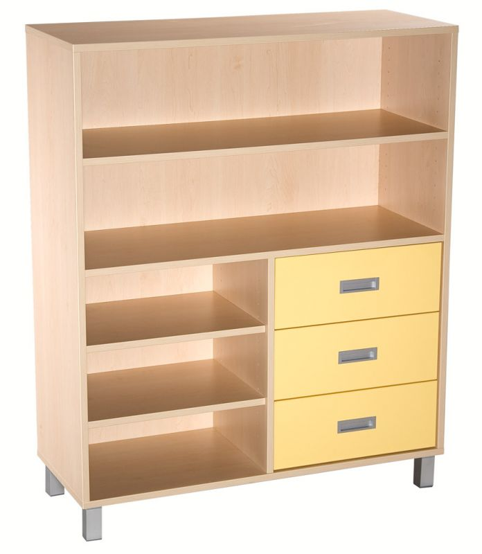 Combined cupboard with drawers - LEGS