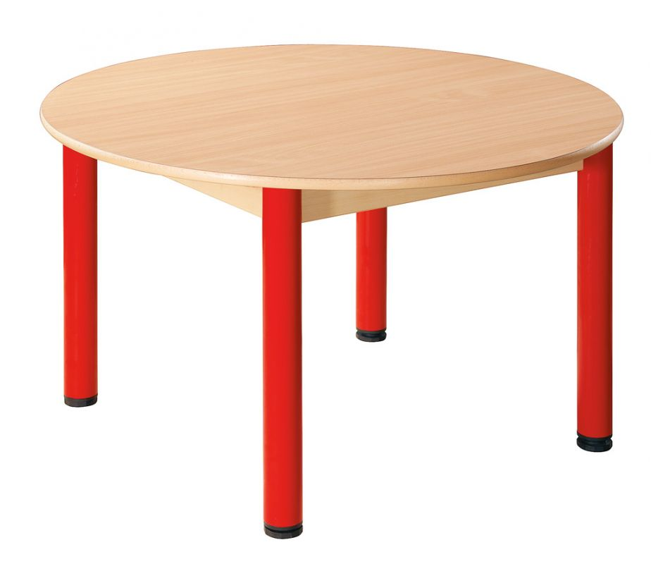 Round table run 100 cm with levelling feet