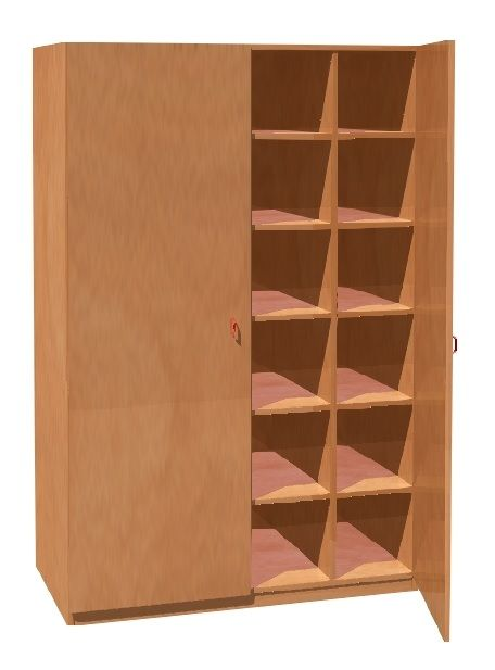 Cupboards for beddings for 24 childrens