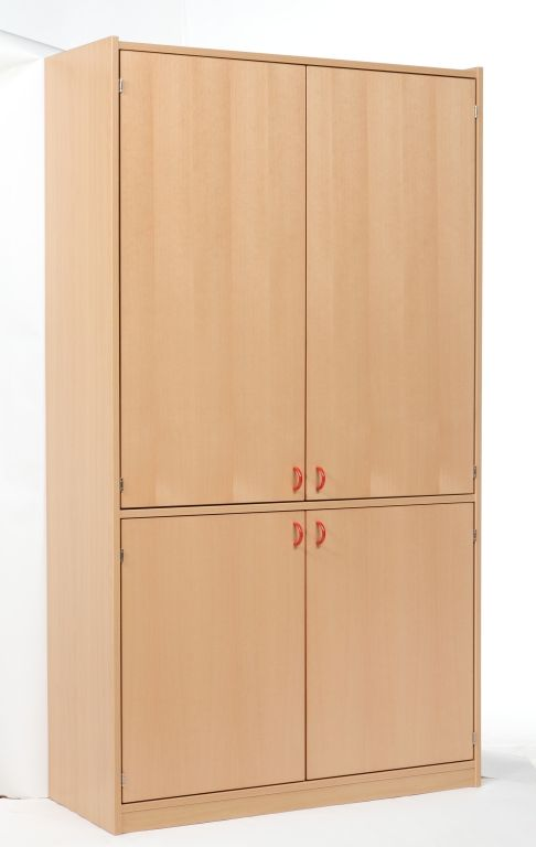 Cabinet with 4 doors, with added lock
