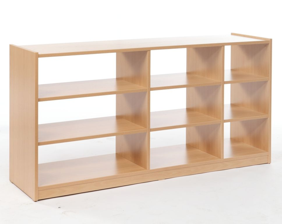 Cupboard for drawers, double-sided, with wheels