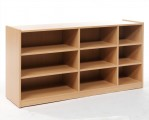 Cupboard for drawers, single-sided